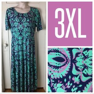 NWT LuLaRoe Ana Floral Maxi Dress